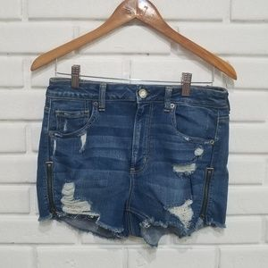 American Eagle Outfitters Super Hi-Rise Shortie 10